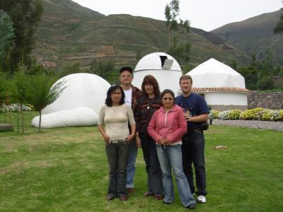 Capacitacion de astronomía Cusco 2007