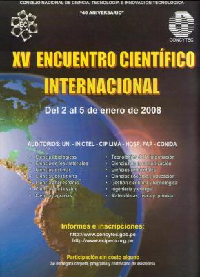 XV Encuentro Científico Internacional Lima - Perú y SAA2008