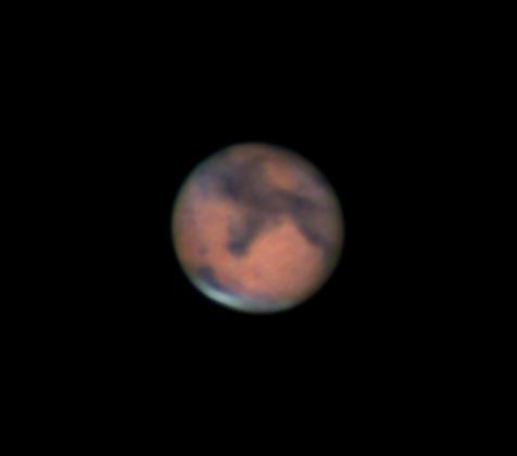 Aumenta la probabilidad de impacto en Marte.