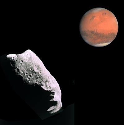 Descartado impacto de asteroide en Marte.