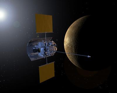 Sonda Messenger sobrevuela Mercurio