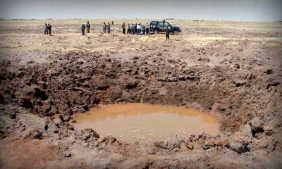 Análisis del meteorito de Carancas