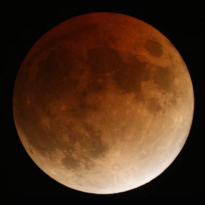 Fotos del eclipse total de luna 20/21 de febrero 2008
